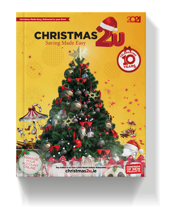 Christmas catalogue 2021, helping you save for Christmas with weekly payments
